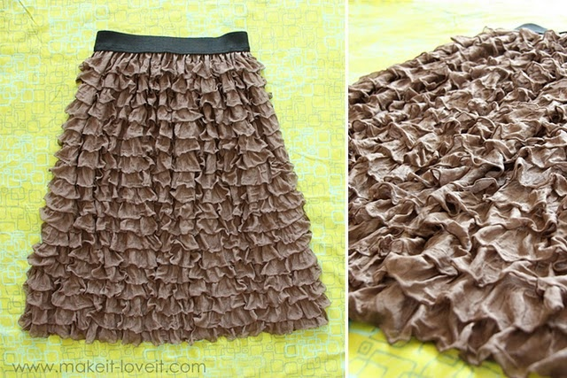 Yes, yes, and yes. Ruffle Skirt at Make it and Love it.