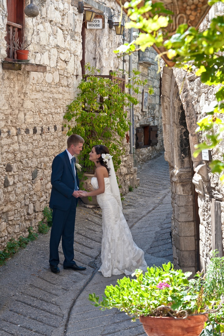 Wedding in Cyprus - traditional style village