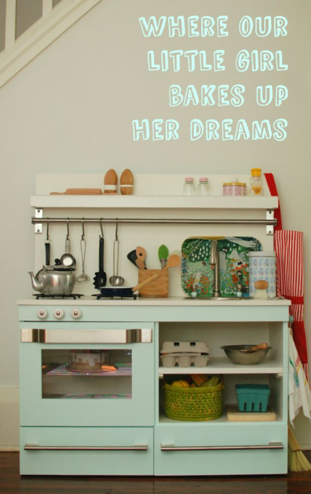 25 unique kids play kitchen ideas on pinterest girls play kitchen play kitchens and daycares. Black Bedroom Furniture Sets. Home Design Ideas
