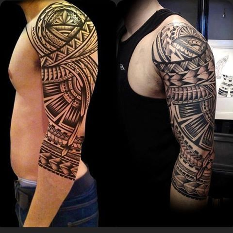 aztec pattern tattoos - Google Search | Tatuajes ...Aztec Tribal Patterns Tattoos