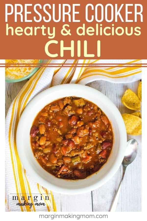 How To Make The Most Delicious Pressure Cooker Chili Recipe Instant Pot Soup Recipes Pressure Cooker Chili Easy Soup Recipes
