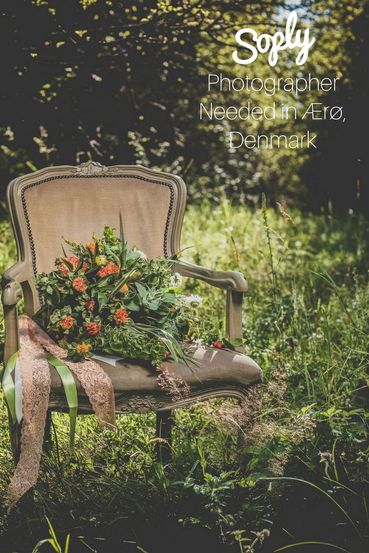 #Photographer needed for a #wedding in in Ærø, Denmark on September 5th. See the #photography job and apply by clicking the pin!