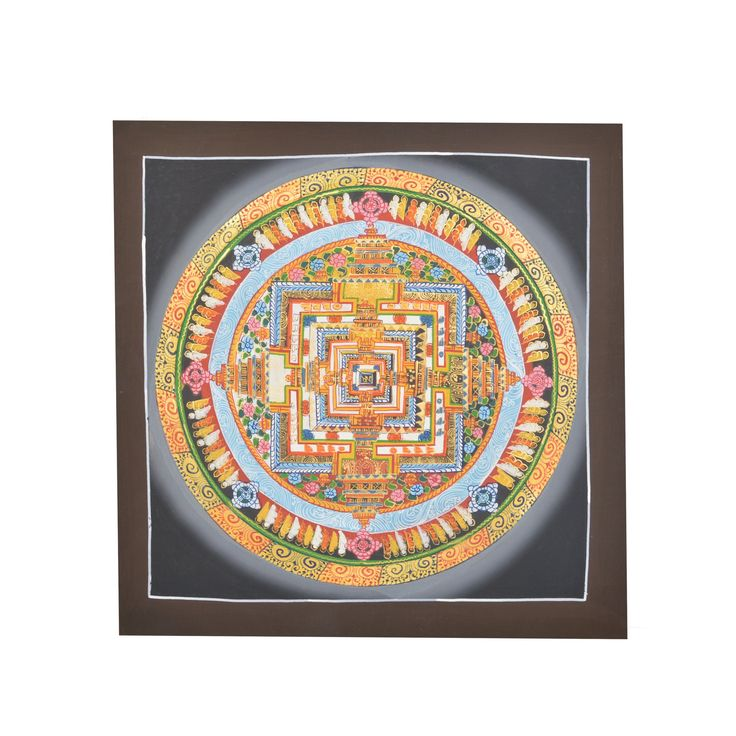 "PRODUCT DESCRIPTION ""Kalachakra"" means the ""Wheel of Time"" Kalachakra is yidam of the highest tantra.In the hidden kingdom of shamballa, it is said that the inh"