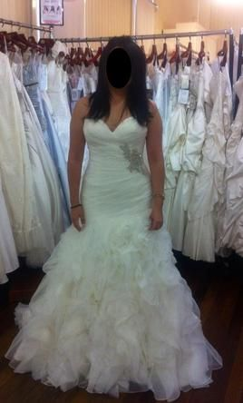 Roz la Kelin Yolanda 5615T: buy this dress for a fraction of the salon price on PreOwnedWeddingDresses.com