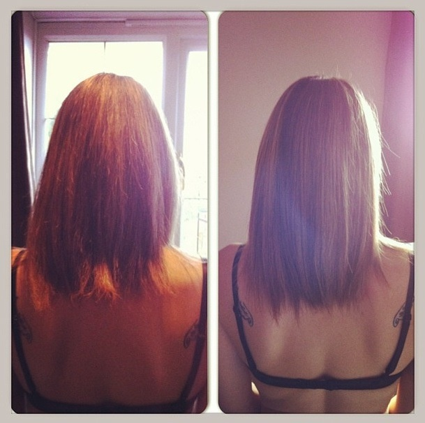 Hair growth Results 100 days of 10,000mcg Biotin challenge. Hair is longer, much smother and softer and a lot less frizz/fly away