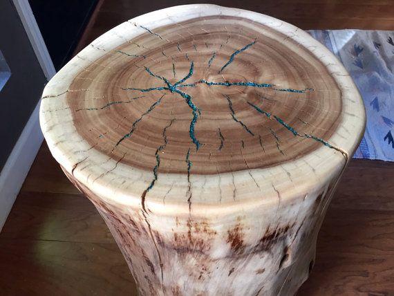 1000 Ideas About Tree Stump Table On Pinterest Stump