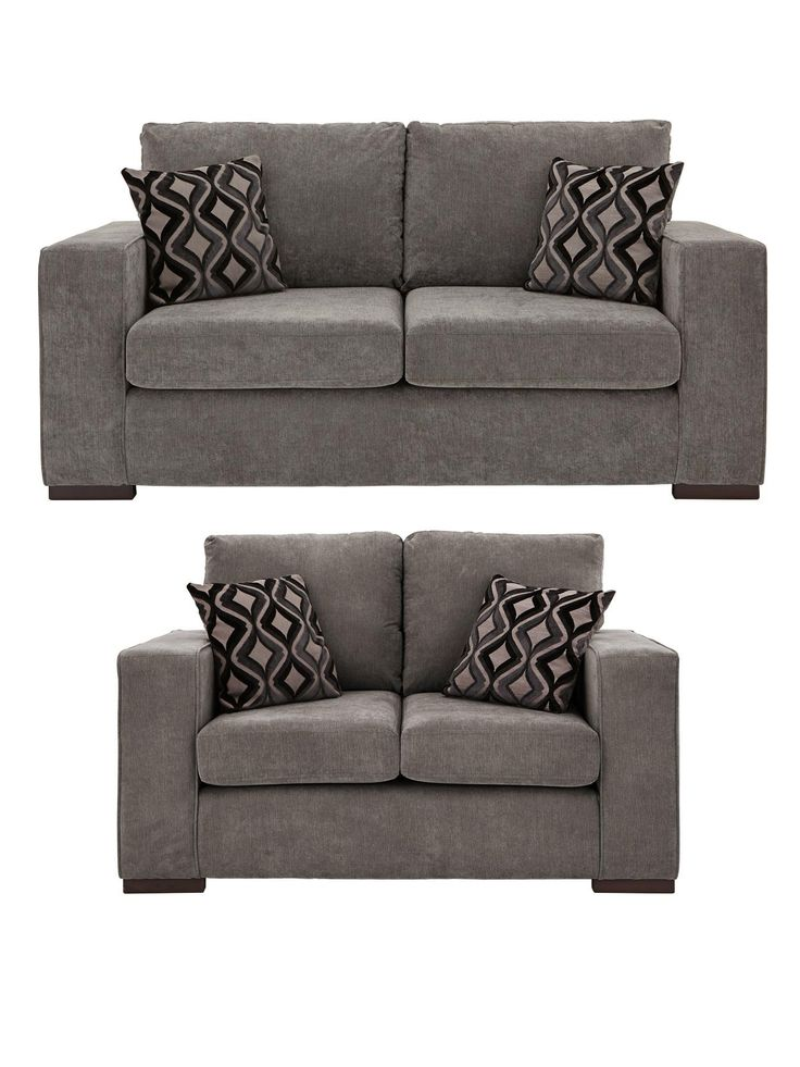 Tristan 3-Seater + 2-Seater Sofa Set | very.co.uk