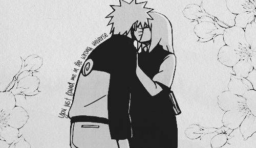 """""""Because you could have loved me forever. And maybe in another universe, I let you.""""   NaruSaku - Pt. 5.  End."""