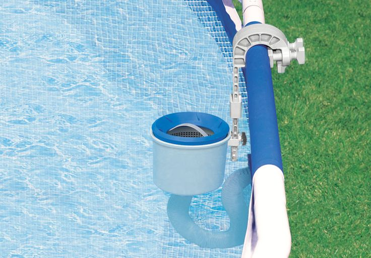 SOFT SIDE POOL ADJUSTABLE SKIMMER - The Intex Deluxe Surface Skimmer requires an Intex filter pump with a 800 gph minimum flow rate - Works in conjunction with your filter pump for easy automatic surf