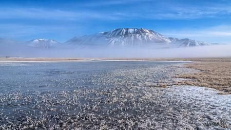 Pian Grande e monte Vettore Photo by Luigi Alesi — National Geographic Your Shot