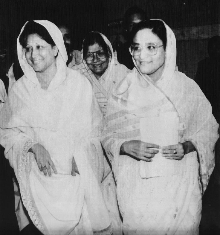 The leaders of the ruling parties Sheikh Hasina & Khaleda ...