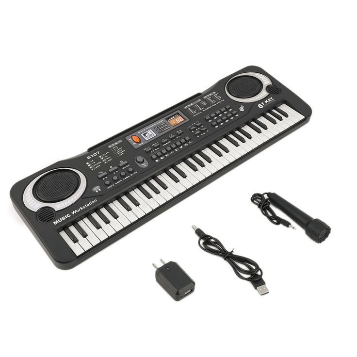 61 Schlüssel Digitale Musik Elektronische Keyboard Schlüsselbrett Geschenk E-piano Geschenk Heißer Verkauf