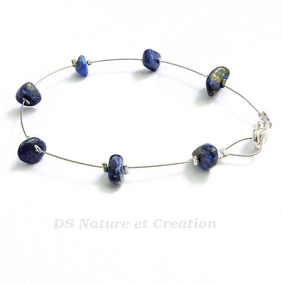 Bracelet lapis lazuli bijou pierre naturelle par DSNatureetCreation https://www.etsy.com/fr/listing/231658467/bracelet-lapis-lazuli-bijou-pierre?ref=shop_home_active_15