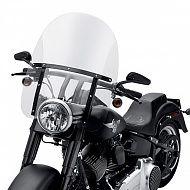 57688-10 - King-Size Detachable Windshield for FL Softail Models - gloss Bl - Harley-Davidson® windshields - fl softail - £294.01
