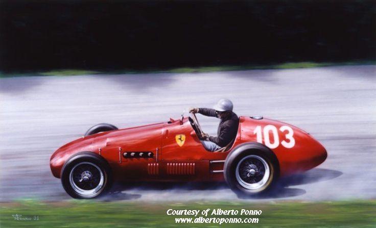 #103 Piero Taruffi (I) - Ferrari 500 (Ferrari 4) 4 (5) Scuderia Ferrari