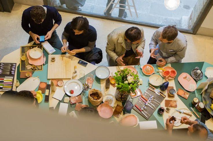 Lunatico table in action at The Breakfast Pavilion #lunatico