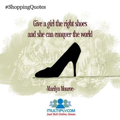 """Give a girl the right shoes and she can conquer the world"" - click http://multiply.com/marketplace/fashion?utm_source=pinterest to find the right shoes for you"