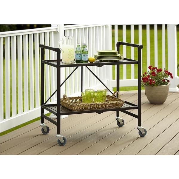 Cosco Home And Office Products Outdoor Folding Serving Cart Amazing Ideas