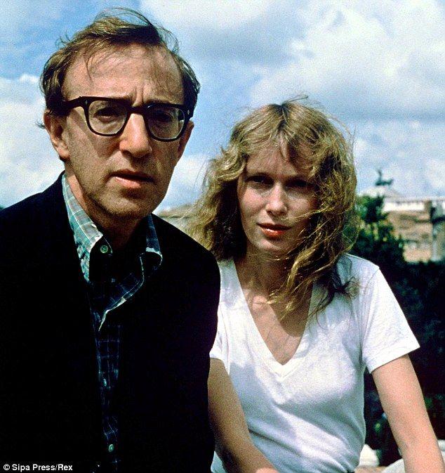 Mia Farrow and Woody Allen...