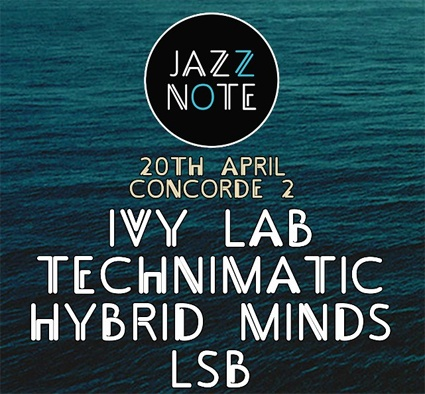 Sabre, Stray & Halogenix are the three masterminds behind new project Ivy Lab and they will be mixing things up LIVE at Concorde2 on Sat 20th April!  Door entry is just £5 / £4 with a Hawaiian Shirt -  Spread over three rooms this is going to be an epic night!
