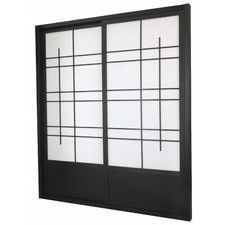 83 X 73 5 Eudes Shoji Double Sliding Room Divider
