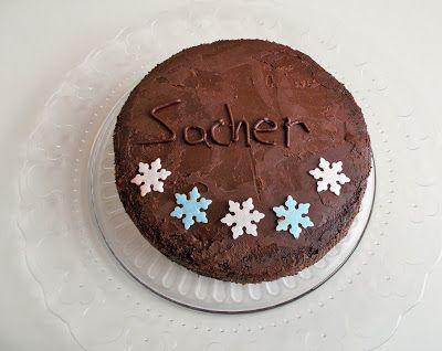 Οι συνταγές του Δίας!Dias recipes!: Σάκχερ Τόρτε (Sacher Torte) με Γκανάς Σοκολάτας Sa...