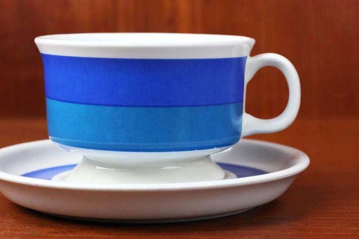 Arabia Finland, Spektri blue. Model ND designer Ulla Procope 1960