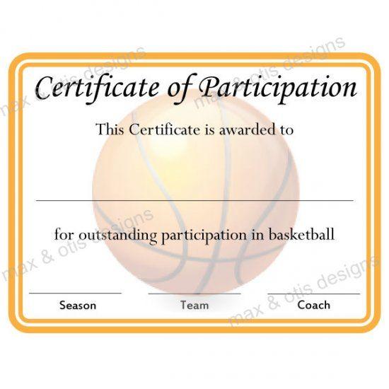 9 best Certificates images on Pinterest | Award certificates, Sports ...