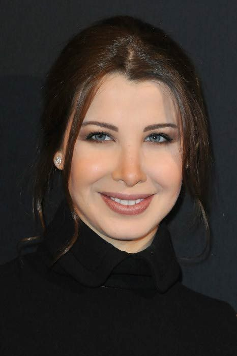 Nancy Ajram at the Paris Haute Couture Fashion Week Spring/Summer in January 2011...
