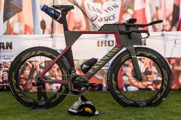 Jan Frodeno's Canyon Speedmax Mehr