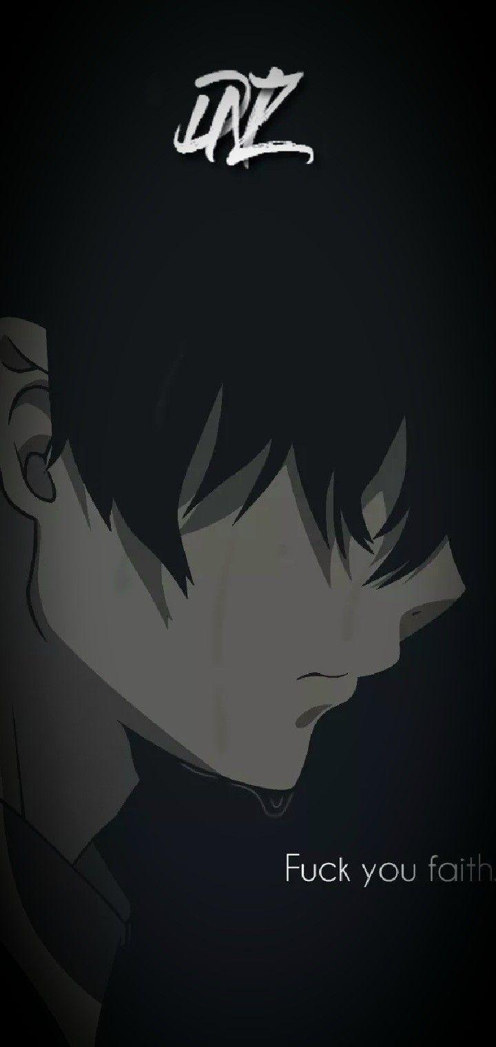 Anime wallpaper for broken screen