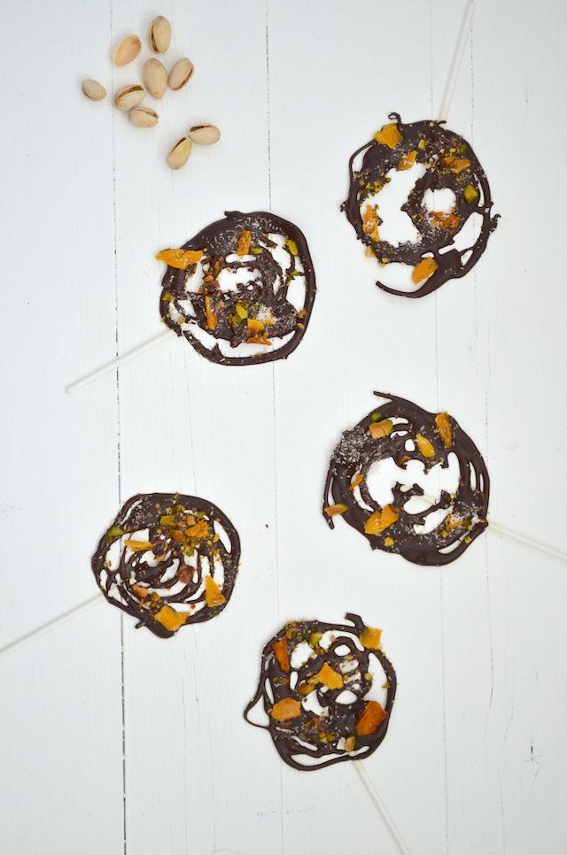 Kidsproof: chocolade lollies