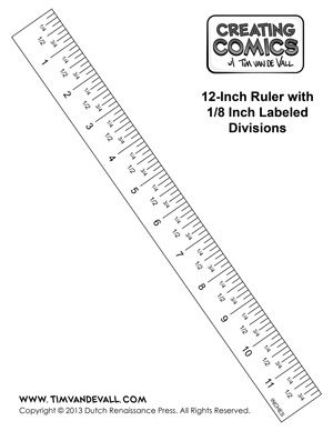 Printable Ruler Template In Inches
