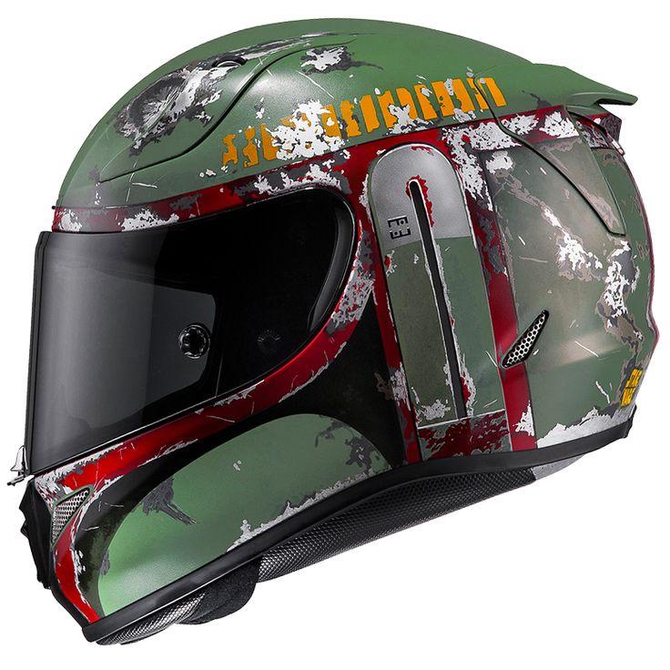 Bobafett HJC rpha11 Motorcycle Helmet 3