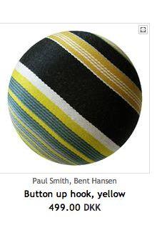 Bent Hansen button up, yellow stripes, Illums.dk