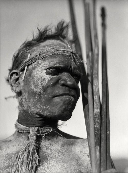 E.O. Hoppé, Aboriginal Tribesman, Palm Island, ,  Queensland , 1930