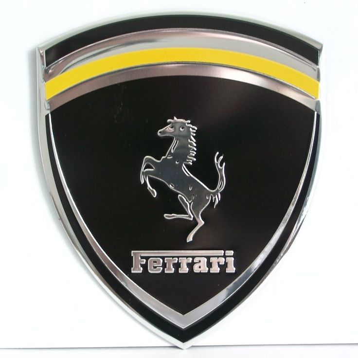 Download Ferrari Black Logo Wallpapers & Widescreens From