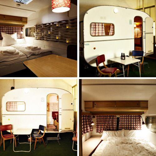 34 best camper remodel ideas images on pinterest vintage caravans mobile home and vintage. Black Bedroom Furniture Sets. Home Design Ideas
