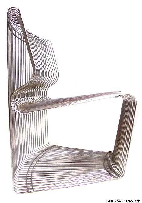 The Wire Chair | Contemporist Icon
