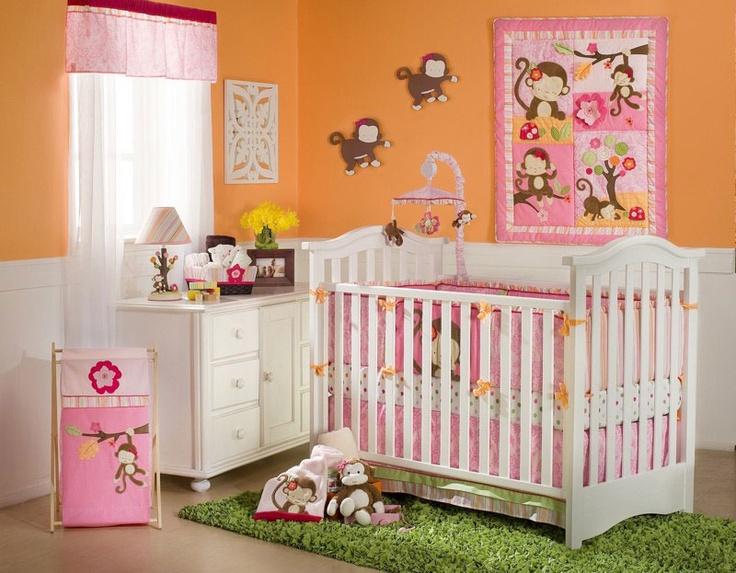 Miss Monkey Bedding by Kidsline