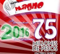 Lista completa de premios del Sorteo Magno 361 de la Lotería Nacional de México - Viernes 16 de septiembre de 2016 | SJdV