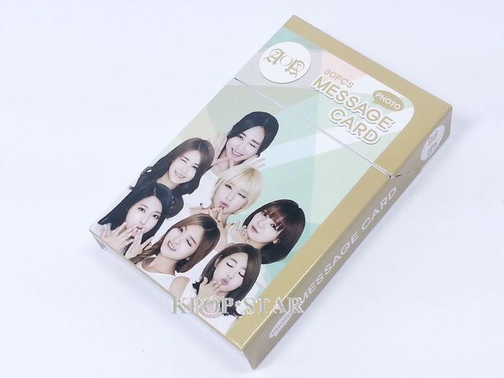 AOA SeolHyun Yuna Choa Photo Message Card ( 30 Piece ) KPOP K-POP Korean K Pop