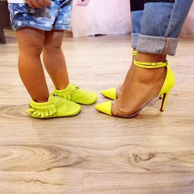 This would be me & my little one #fav bright color