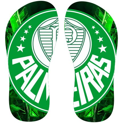 Estampa para chinelo Palmeiras 000388