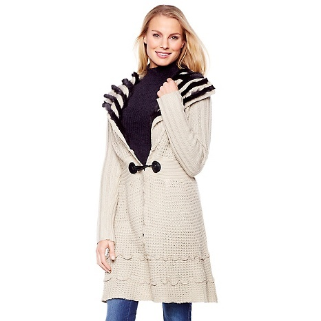 "Cozy Chic by Jamie Gries ""Winter Warmth"" Sweater - HSN clearance"