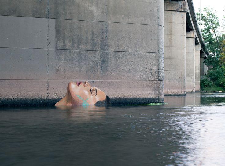 Best Artist Hula Images On Pinterest Urban Art Murals And - Artist paints incredible seaside murals balanced on surfboard