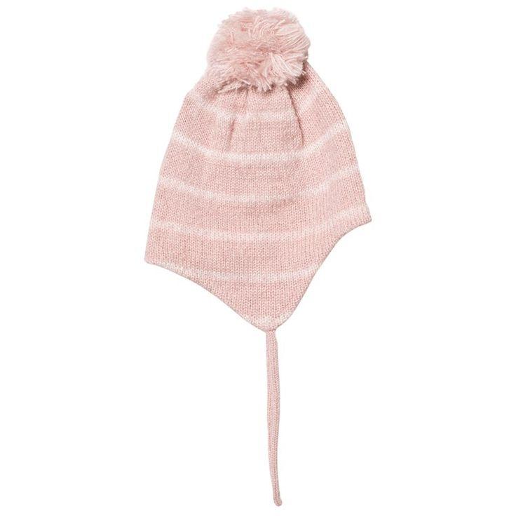 Pink Stripy Ducky Inka Beanie