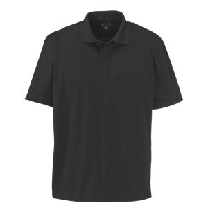 World Wide Sportsman Therma-Cool Short-Sleeve Polo Shirts for Men - Black - 2XL