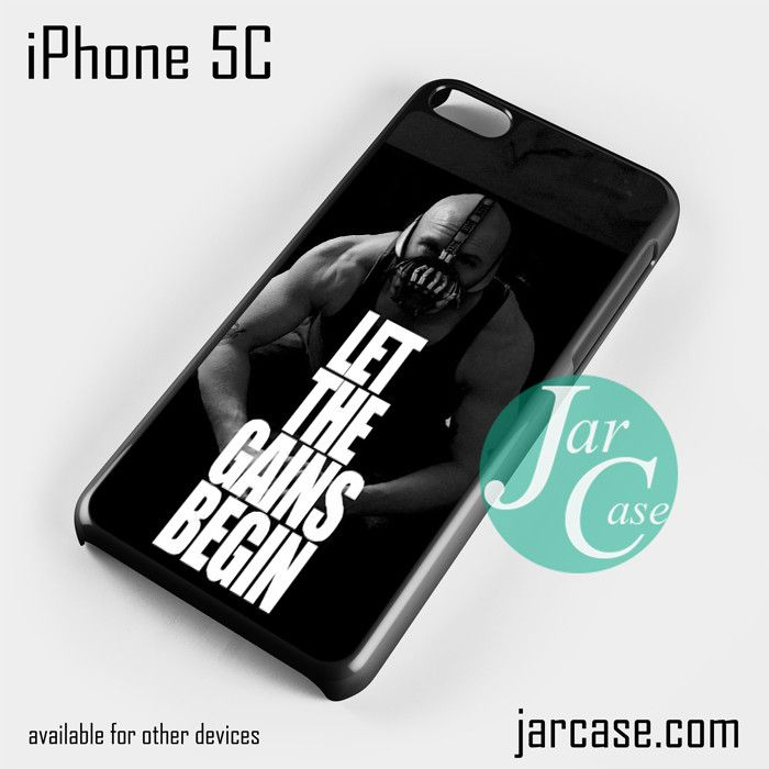 Bane Batman Quote Phone case for iPhone 5C and other iPhone devices