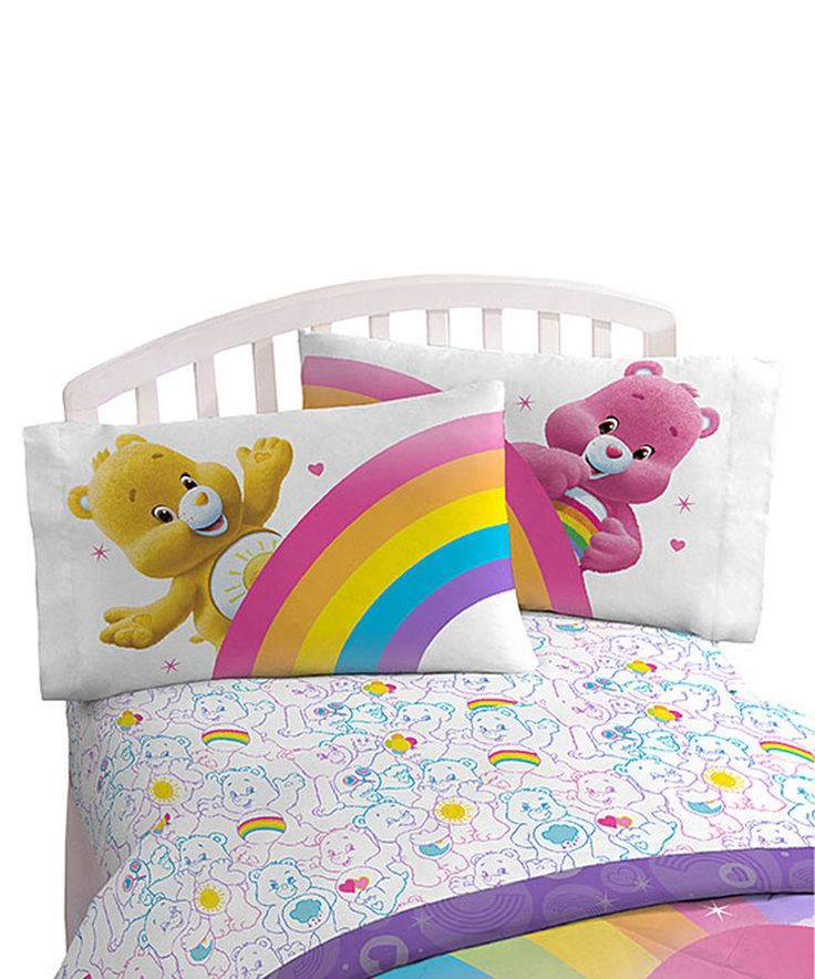 Love this Care Bears Rainbow Days Twin Sheet Set by Jay Franco and Sons on #zulily! #zulilyfinds